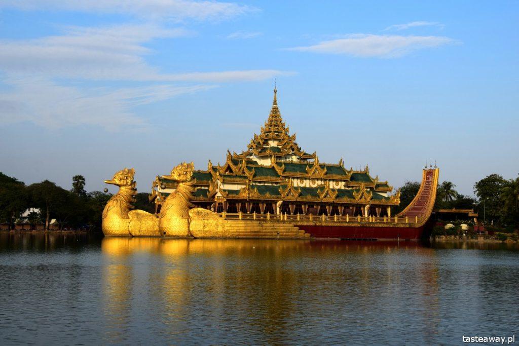 Birma, Myanmar, Rangun, Yangon, Karaweik, co zobaczyć w Rangun, Rangun atrakcje