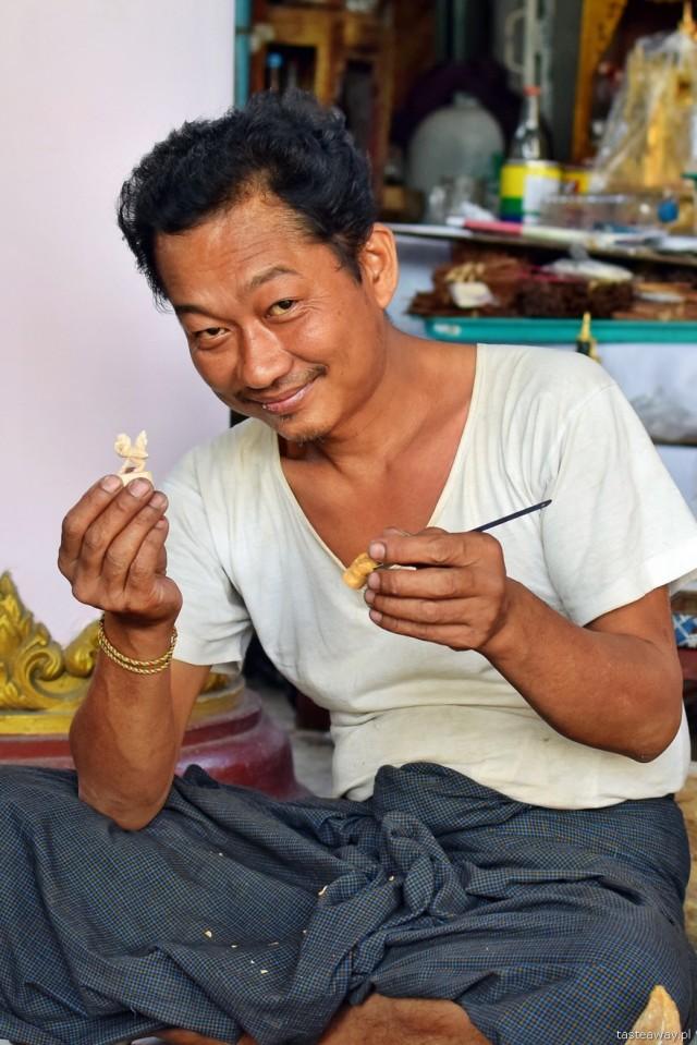 Birma, Rangun, ludzie Birmy