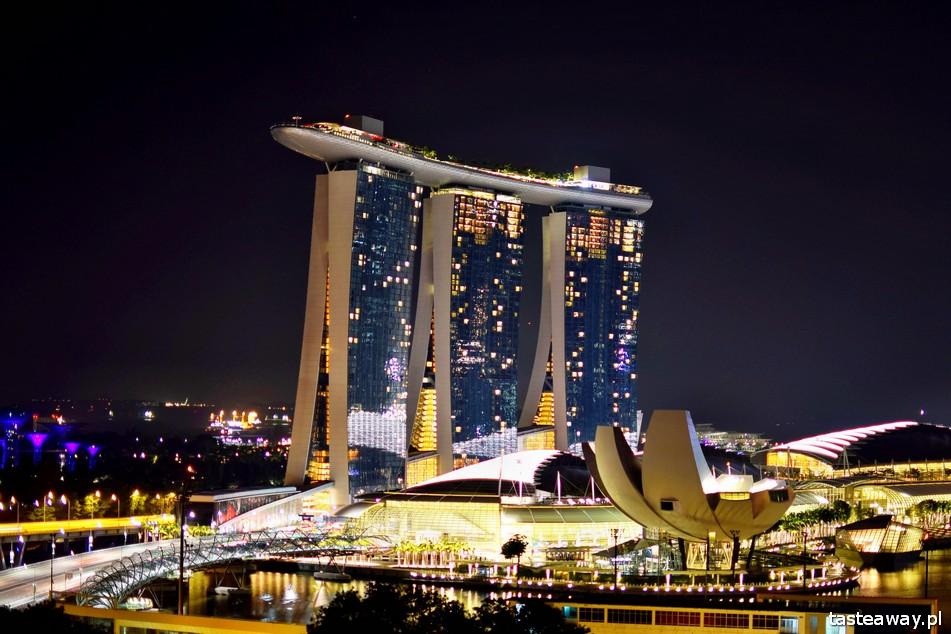 Marina Bay Sands, Singapur, hotel Pan Pacific