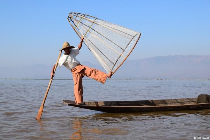 podróże, turystyka, brzydka twarz turystyki, Birma, Inle Lake