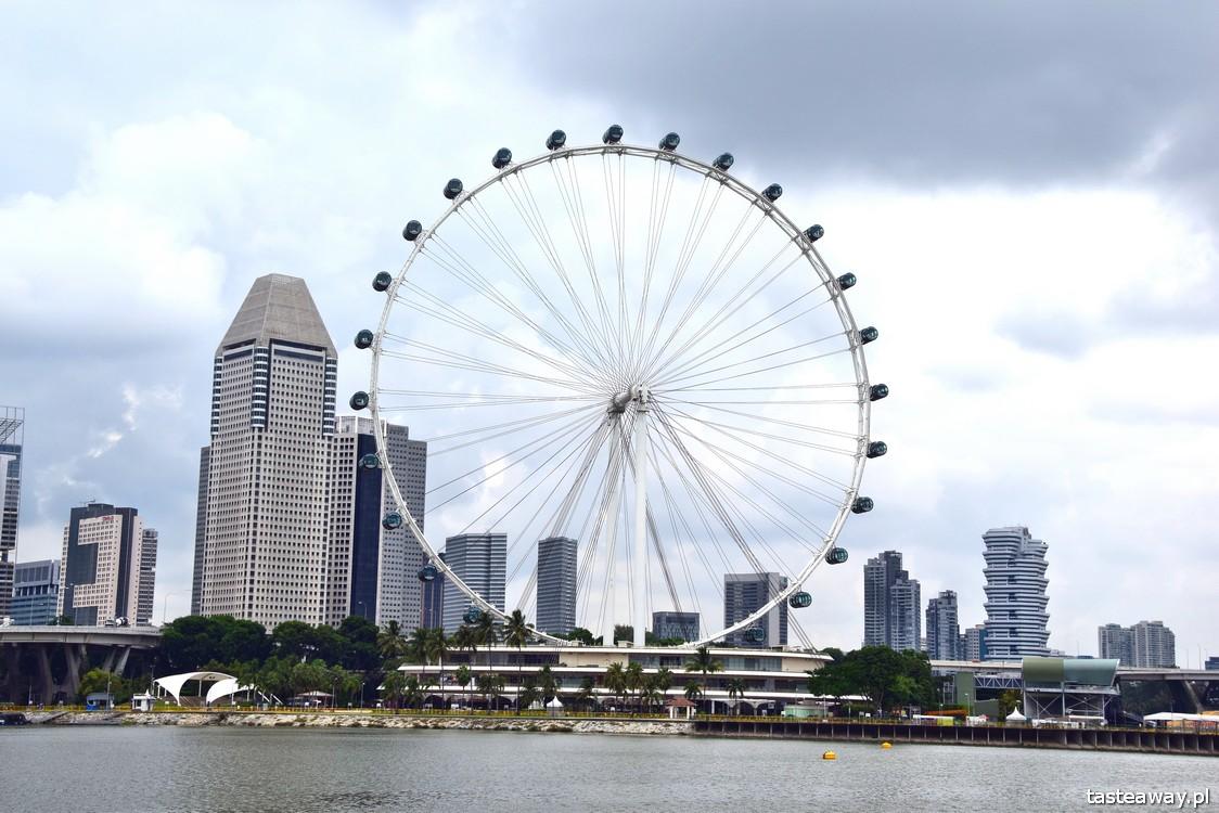 Singapur, Singapore Flyer, Marina Bay Sands, Gardens by The Bay