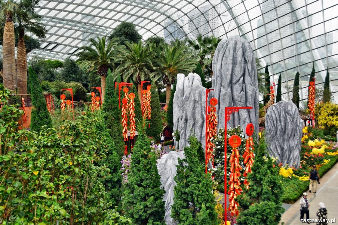 Flower Dome, Singapur, Gardens by the Bay, Marina