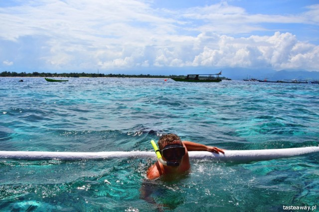 Indonezja, Archipelag Gili, Gili Islands, nurkowanie, snurkowanie z żółwiami, Gili Trawangan, najpiękniejsze plaże świata