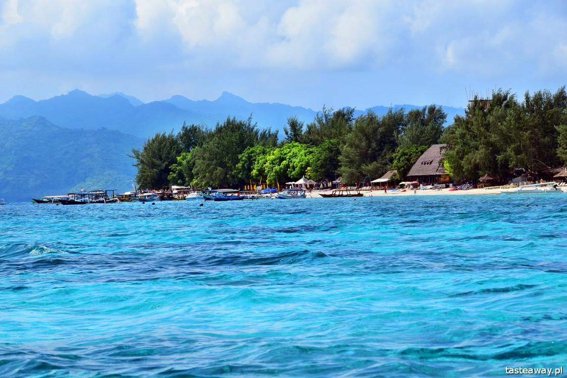 Indonezja, Archipelag Gili, Gili Islands, nurkowanie, snurkowanie z żółwiami, Gili Trawangan, najpiękniejsze plaże