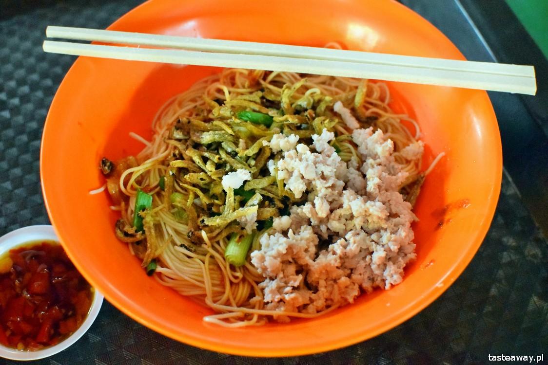 Singapur, co jeść w Singapurze, zupy, food courty Singapuru, Maxwell Food Centre, dried mee sua