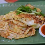 Singapur, co jeść w Singapurze, food courty, Maxwell Food Centre, Oyster Omlette