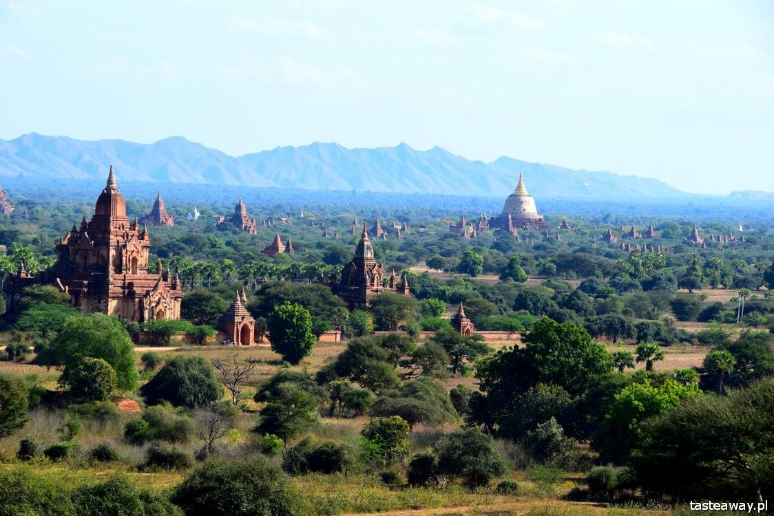 Birma, Bagan, świątynie, najpiekniejsze miejsca Birmy, Azja