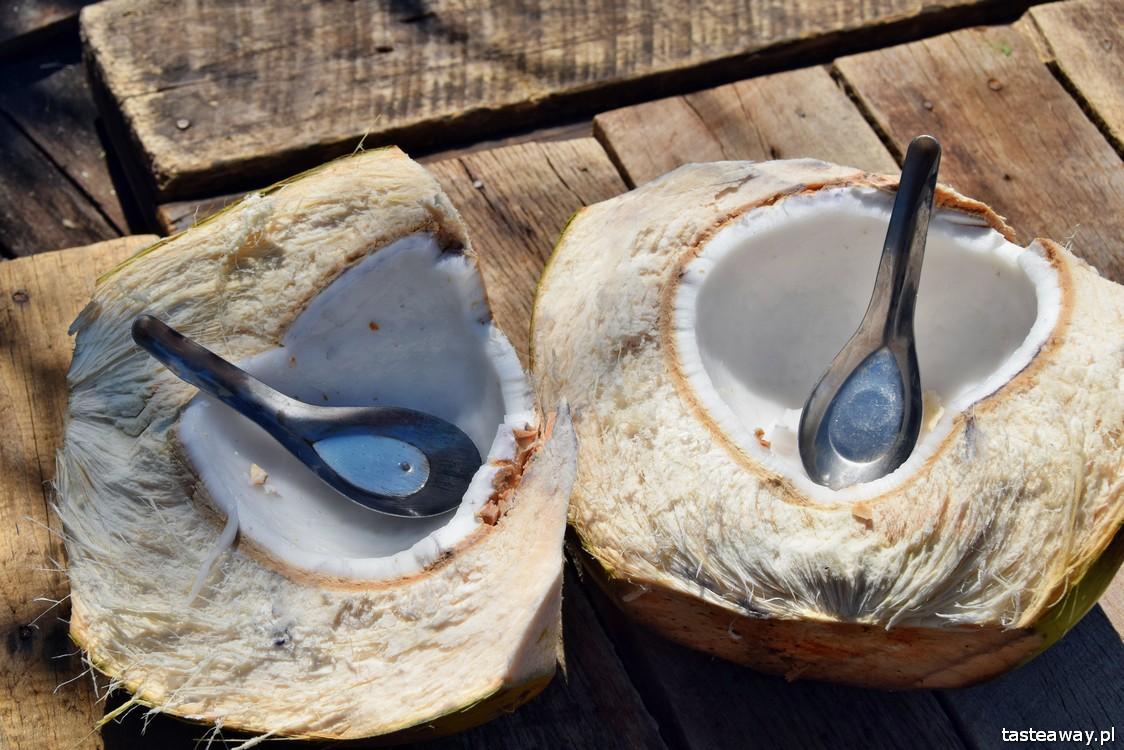 kokos, woda kokosowa, Azja