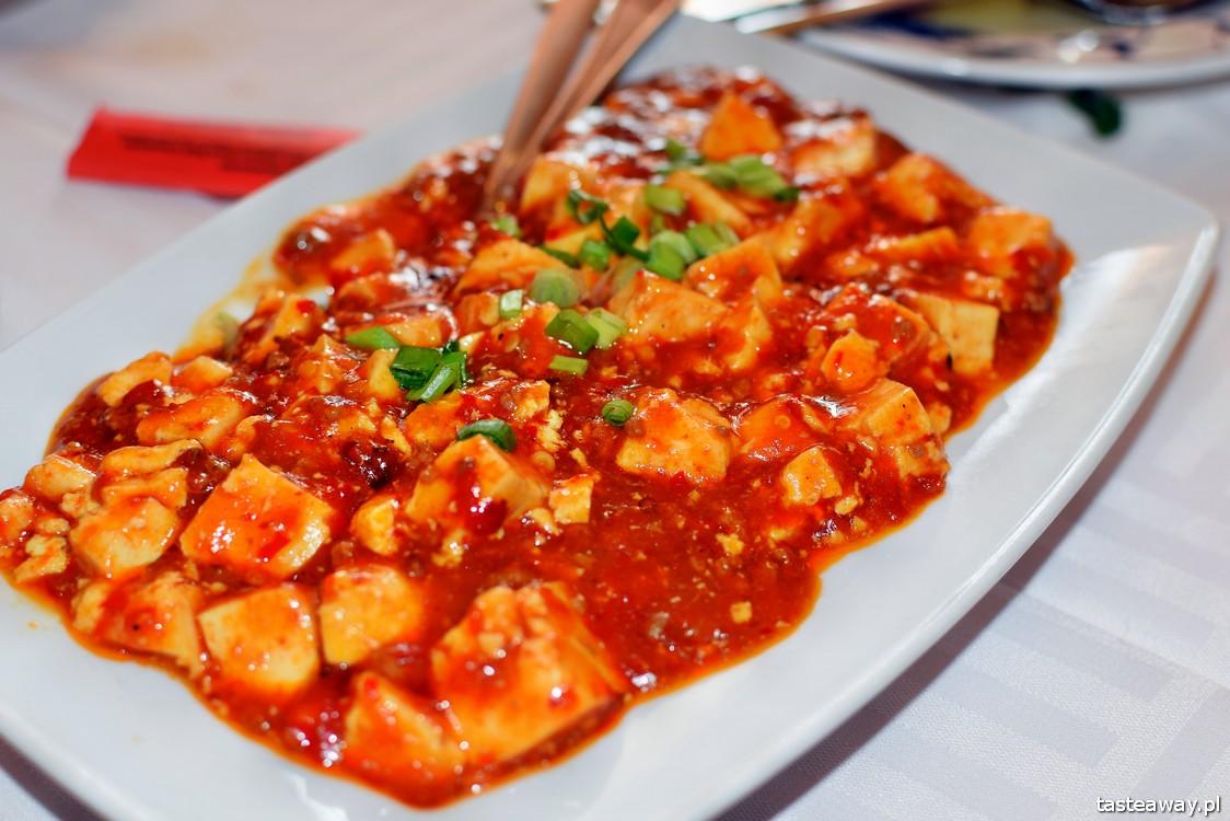tofu mapo, kuchnia chińska, China Town, Warszawa, tofu, gdzie na chińskie w Warszawie