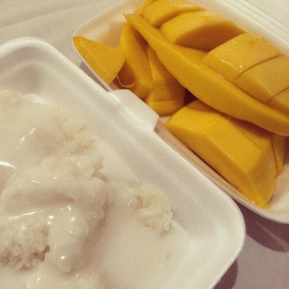 mango sticky rice, najlepsze desery, jedzenie Azja
