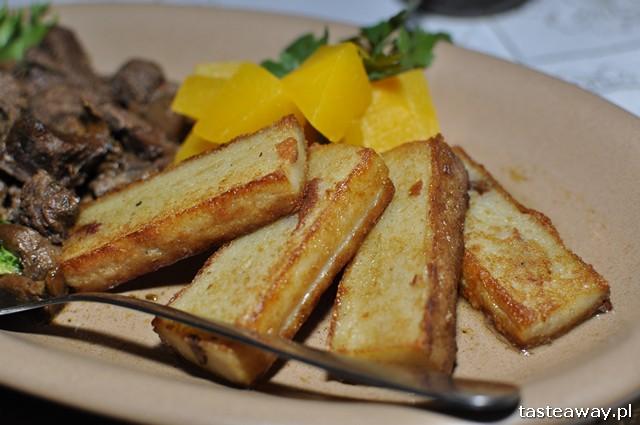 babka ziemniaczana, kartoflak, potrawy regionalne, kuchnia regionalna, Suwalszczyzna, Podlasie