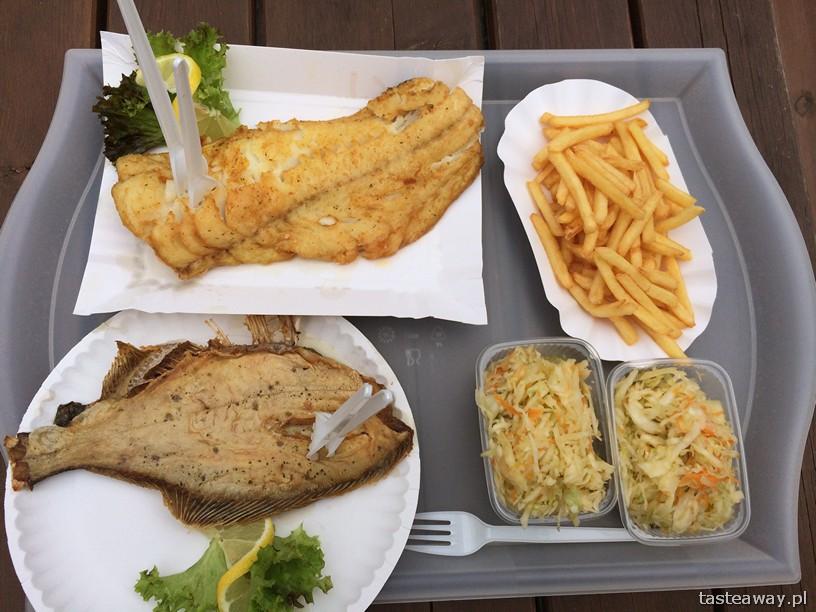 ryby, smażone ryby, polskie morze, potrawy regionalne, kuchnia regionalna