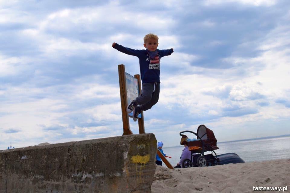 Hel, polskie morze, wakacje z dzieckiem, podróżowanie z dzieckiem