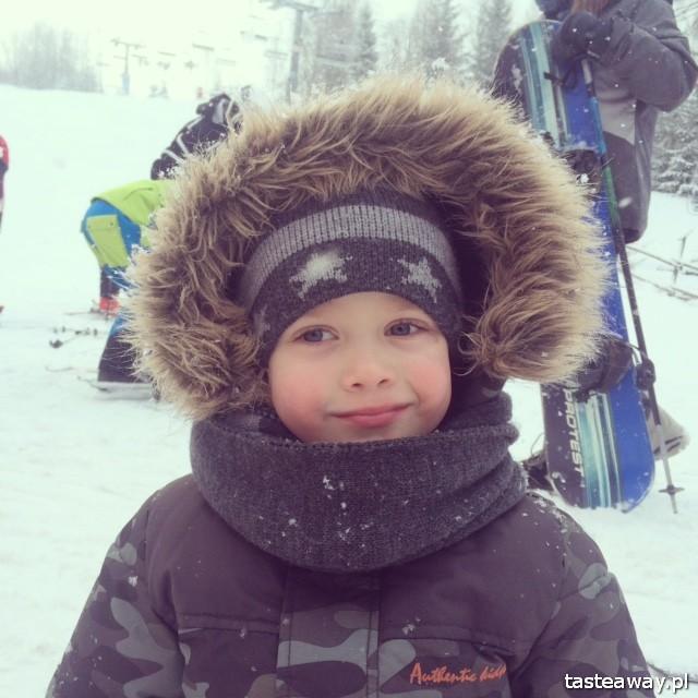 Wierchomla, narty z dzieckiem, podróżowanie z dzieckiem