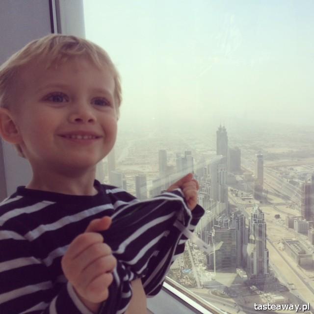 Dubaj, podróżowanie z dzieckiem, Burj Al Arab, dziecko w podróży