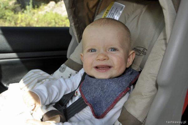 podróżowanie z niemowlakiem, jak podróżować z niemowlakiem