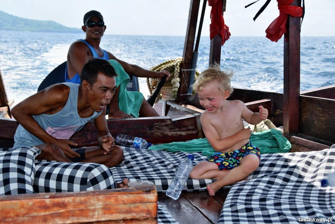 Indonezja, Archipelag Gili, podróżowanie z dzieckiem, dziecko w podróży, Azja z dzieckiem