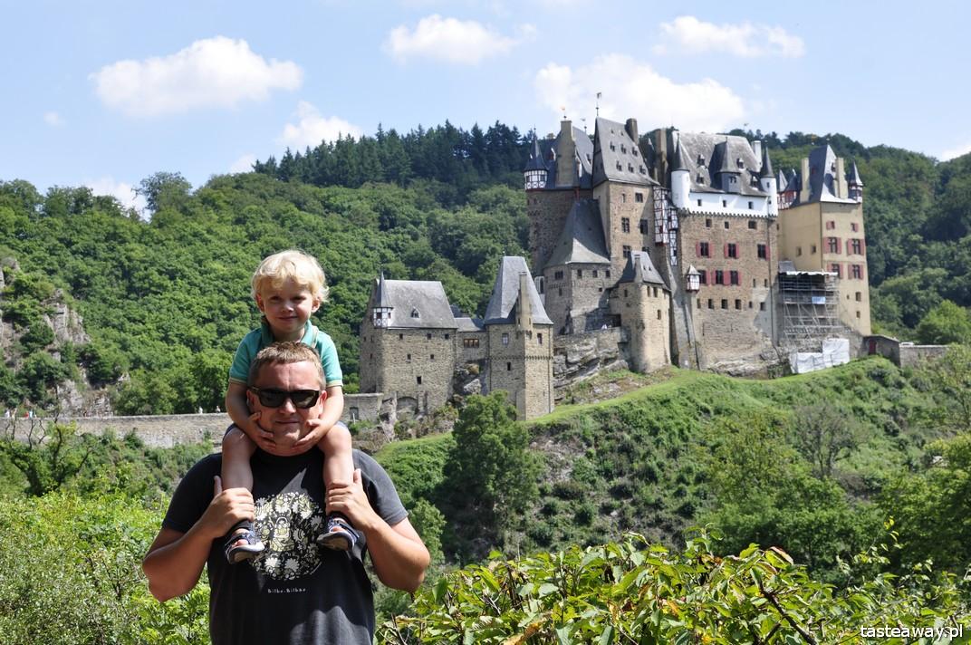 Niemcy, Nadrenia, zamki w Nadrenii, podróżowanie z dzieckiem, dziecko w podróży