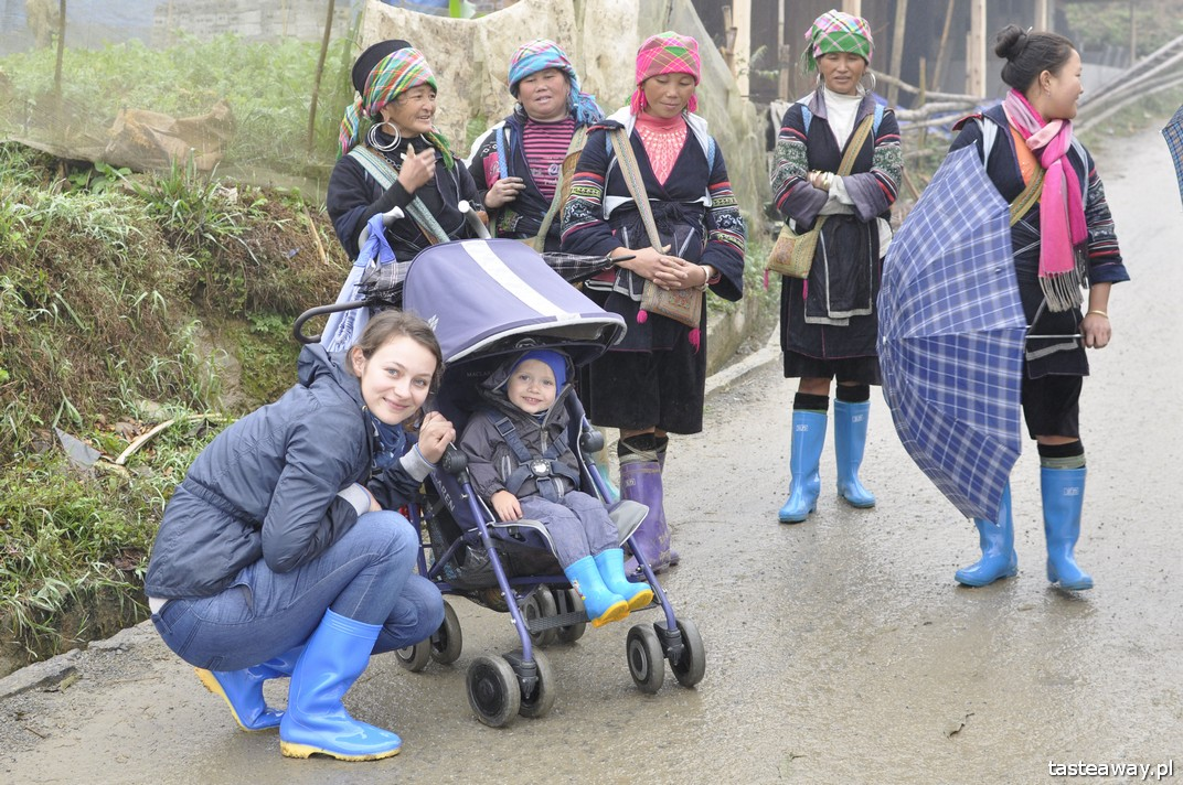 Wietnam, Sa Pa, podróżowanie z dzieckiem, Wietnam z dzieckiem