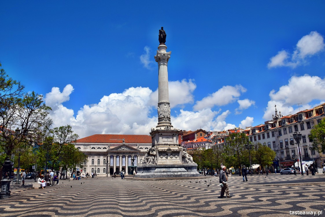 Lizbona, Portugalia, co robić w Lizbonie, co zobaczć w Lizbonie, Rossio