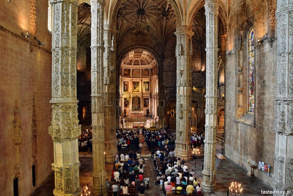 Lizbona, co zobaczyć w Lizbonie, Mosteiro dos Jeronimos