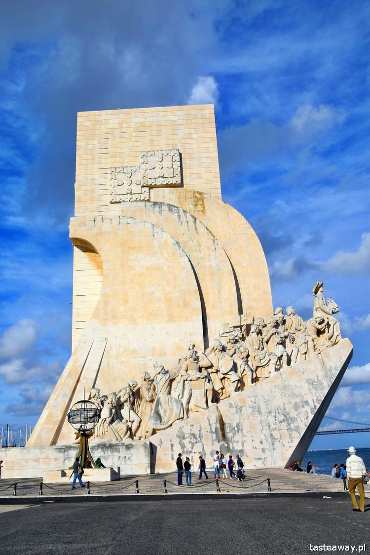 pomnik odkrywców, Lizbona, co zobaczyć w Lizbonie