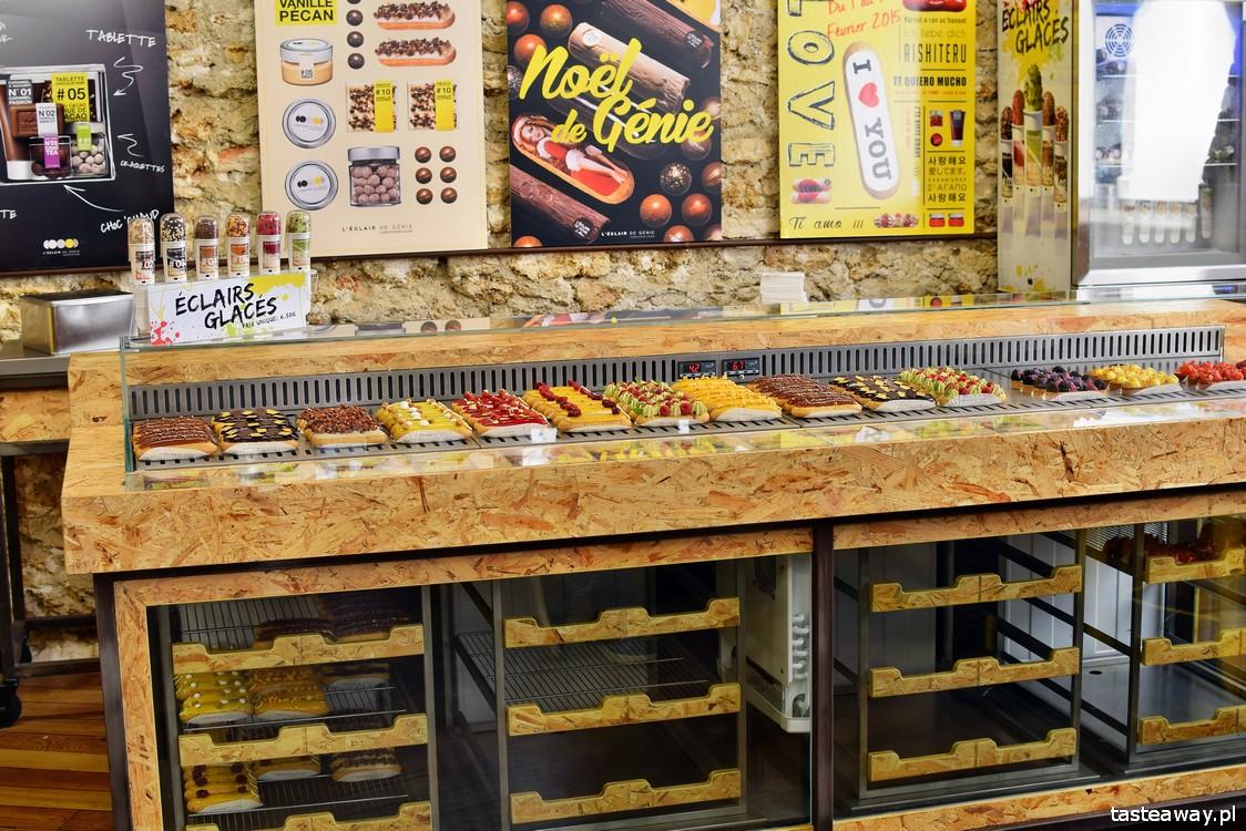 eklery, Paryż, najlepsze cukiernie w Europie, najlepsze cukiernie w Paryżu, cukiernictwo, L'Eclair de Genie, eclair, gdzie na eklerki w Paryżu, Christopher Adam