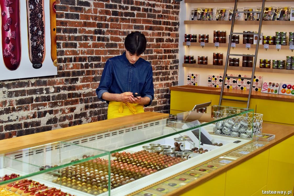eklery, Paryż, najlepsze cukiernie w Europie, najlepsze cukiernie w Paryżu, cukiernictwo, L'Eclair de Genie, eclair, gdzie na eklerki w Paryżu, Christophe Adam
