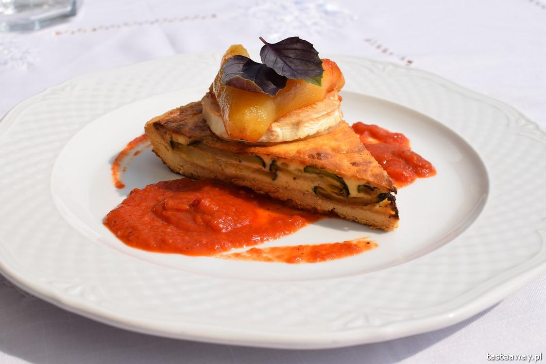 tarta z cukinii, Góralka Tradycja, Zakopane, gdzie jeść w Zakopanem, najlepsze restauracje w Zakopanem