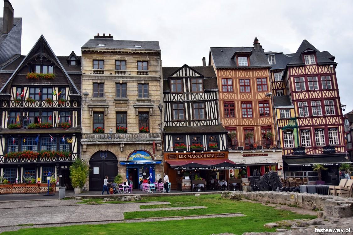 Normandia, Francja, co zobaczyć w Normandii, najpiękniejsze miejsca we Francji, Rouen