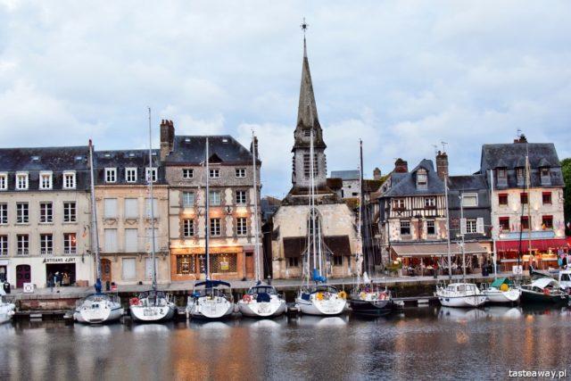 Normandia, Francja, dlaczego warto jechać do Normandii, Honfleur, najpiękniejsze miejsca w Normandii