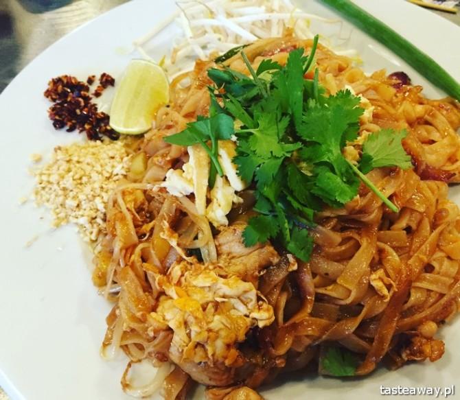 pad thai, kuchnia tajska, gdzie na tajskie, Warszawa, Thaisty, gdzie na pad thaia