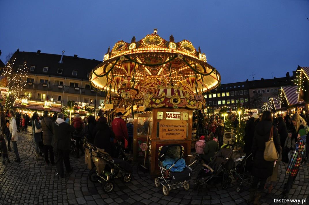 jarmarki świąteczne, Niemcy, Norymberga, co zobaczyć w Niemczech, święta w Niemczech