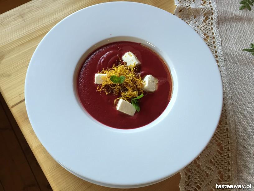 Javorina, Zakopane, restauracje w Zakopanem, gdzie jeść w Zakopanem, krem z buraka, zupy