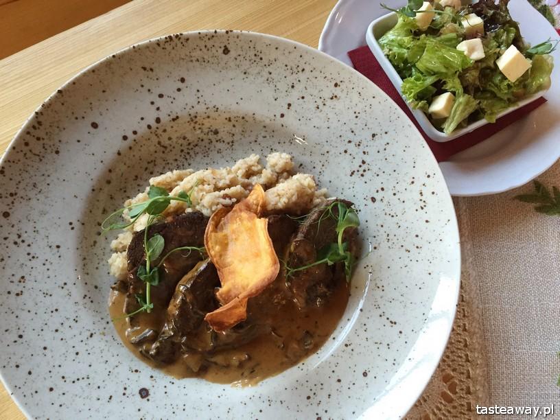 Javorina, Zakopane, restauracje w Zakopanem, gdzie jeść w Zakopanem, udziec barani, kluska jęczmienna