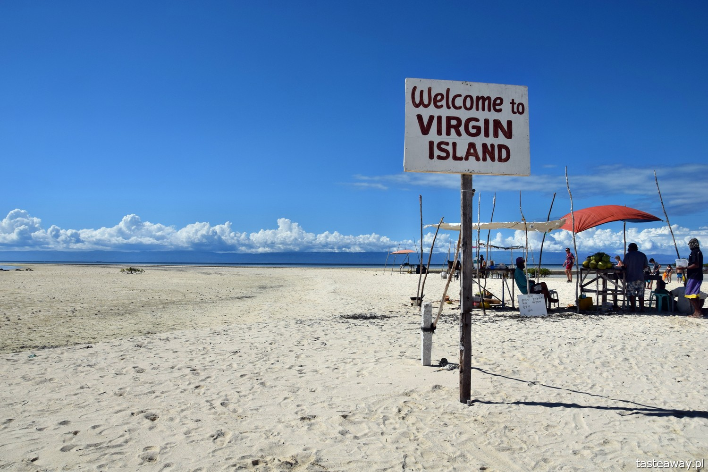 Filipiny, rajskie wyspy, Panglao, Balicasag, Virgin Island