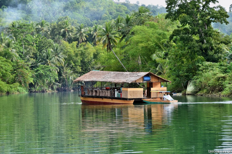 Bohol, FIlipiny, co zobaczyć na Filipinach, co zobaczyć na Bohol, Loboc, LOboc River Cruise