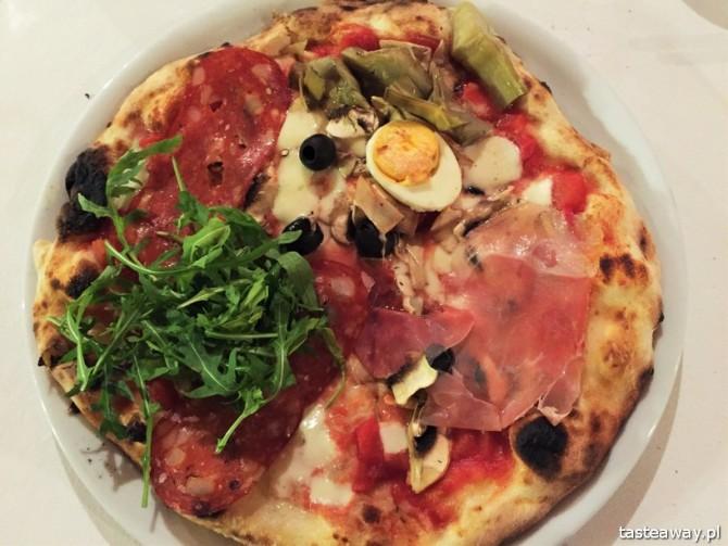 Al Capone, pizza, najlepsza pizza w Warszawie, gdzie na pizzę w Warszawie, Ochota, kuchnia włoska, pizza capricciosa