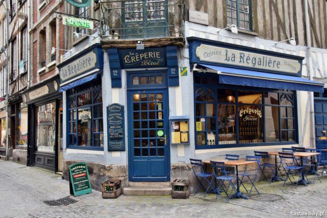 Francja, naleśniki, crepes, creperie