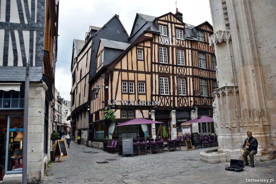 Francja, Normandia, Rouen, pokochaj Francję