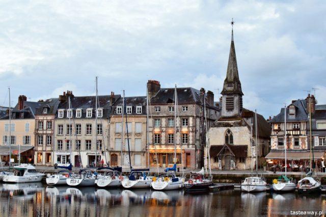 Francja, Normandia, Honfleur, zakochać się we Francji