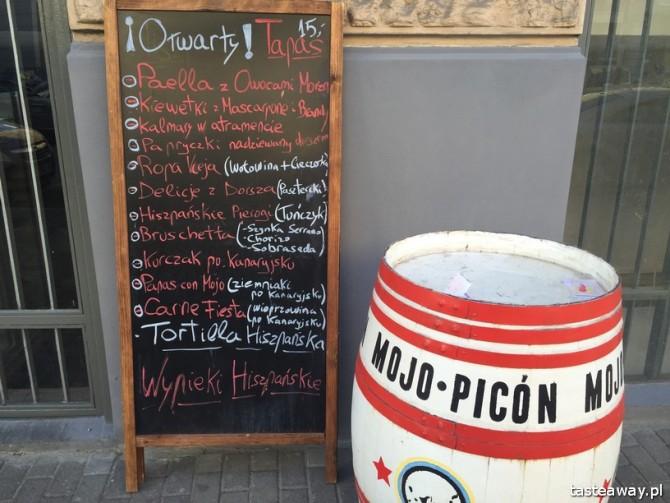 Mojo Picon, hiszpańskie tapas, hiszpańska kuchnia, tapas w Warszawie, gdzie na tapas w Warszawie, tapasy z wysp kanaryjskich