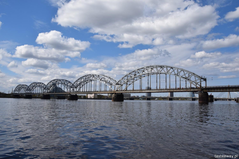 Łotwa, Ryga, co zobaczyć w Rydze, Ryga- atrakcje, starówka w Rydze, Dźwina