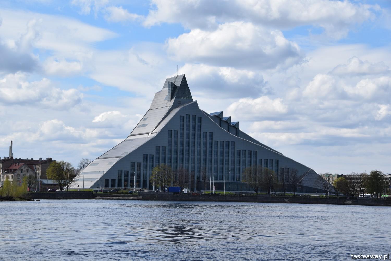 Łotwa, Ryga, co zobaczyć w Rydze, Ryga- atrakcje, starówka w Rydze, Biblioteka Narodowa w Rydze