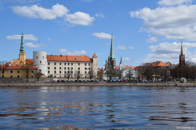 Łotwa, Ryga, co zobaczyć w Rydze, Ryga- atrakcje, starówka w Rydze, zamek w Rydze