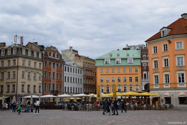 Łotwa, Ryga, co zobaczyć w Rydze, Ryga- atrakcje, starówka w Rydze, panorama Rygi, panorama starówki