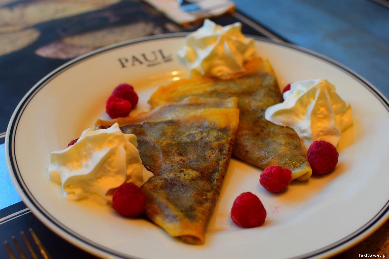 francuskie potrawy, kuchnia francuska, francuskie klasyki, francuskie potrawy, które trzeba znać, crepes, naleśniki z czekoladą, PAUL