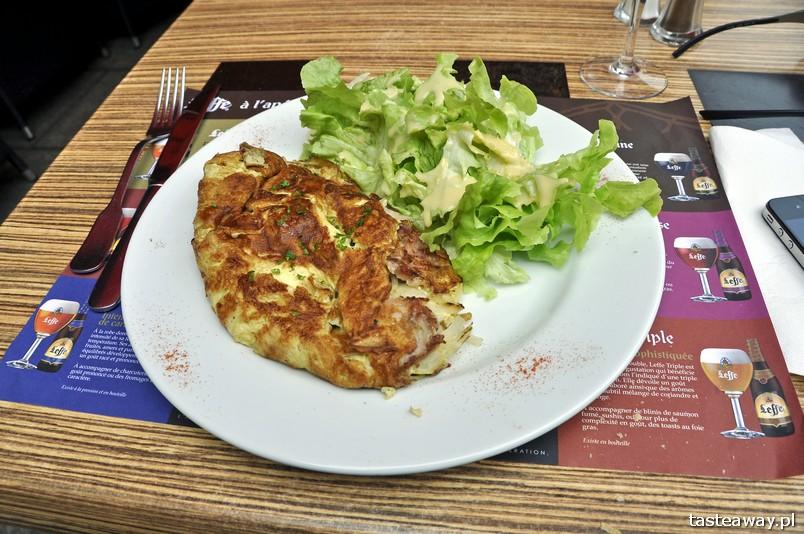 francuskie potrawy, kuchnia francuska, francuskie klasyki, zupa cebulowa, francuskie potrawy, które trzeba znać, omlet, omlette,