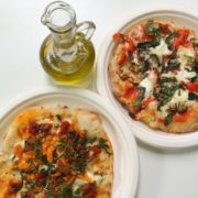 pinsa, pizza inaczej, kuchnia włoska, PINSA, Saska Kępa, Francuska, gdzie jeść na Saskiej Kępie