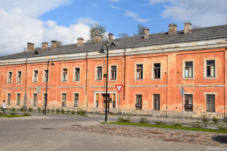 Łotwa, co robić na Łotwie, co zobaczyć na Łotwie, Daugavpils, twierdza w Daugavpils